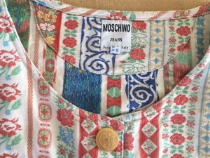 MOSCHINO  Vintage Top - Boho Muster