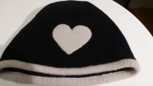Moschino Chapeau en tricot noir laine