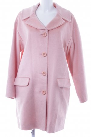 Moschino Wollmantel rosa Urban-Look