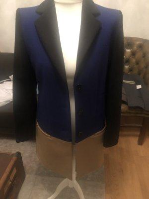 Moschino Wool Coat mit Colorblocking