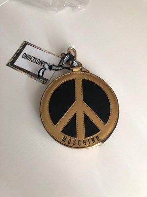Moschino Porte-clés noir-doré