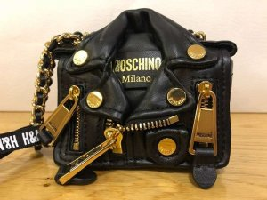 MOSCHINO x H&M Mini Tasche SOLD OUT Lederjacke Gold