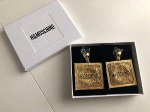 Moschino Pendientes de clip color oro-negro