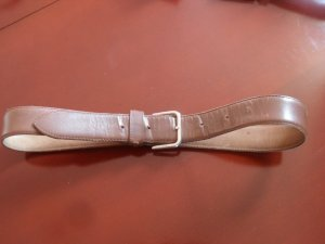 Moschino Belt brown leather