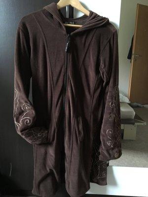 Moshiki Manteau à capuche multicolore