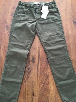 Mos Mosh Stretch Jeans khaki