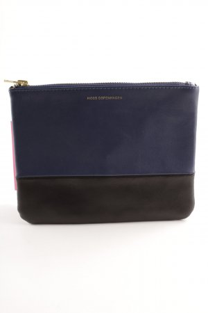 Moss Copenhagen Clutch schwarz-dunkelblau Party-Look