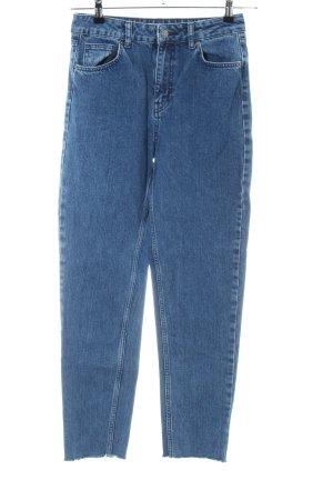 Moss Copenhagen High Waist Jeans blau Casual-Look