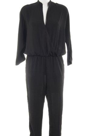 Moss Copenhagen Jumpsuit schwarz schlichter Stil
