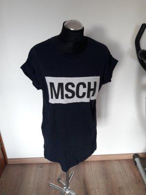 moss copenhagen shirt gr. m dunkelblau
