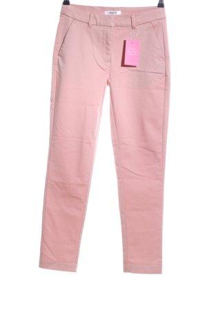 Moss Copenhagen Stoffhose pink Casual-Look