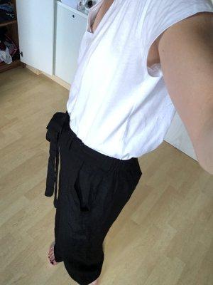 Moss Copenhagen Pantalone culotte nero
