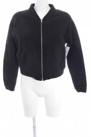 Moss Copenhagen Sweat Jacket black casual look