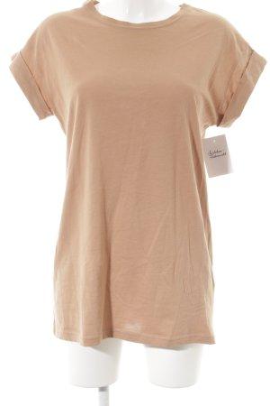 Moss Copenhagen T-Shirt nude Casual-Look