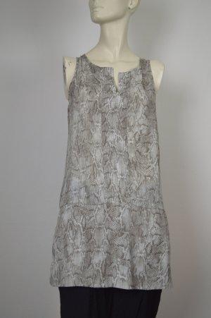 Mossimo Kleid XS Tunikakleid mit Reptilmuster