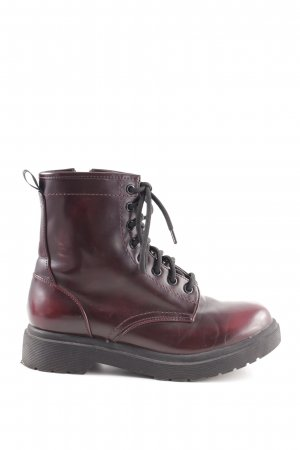 Mossimo Supply Co. Chukka boot rouge-brun gradient de couleur