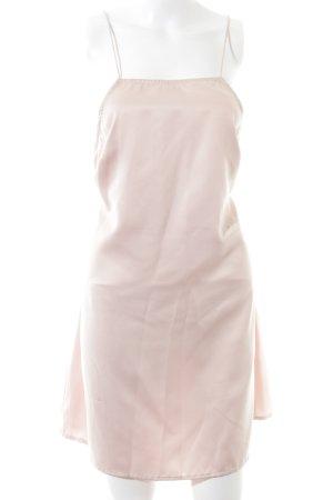 Motel A-lijn jurk roze casual uitstraling