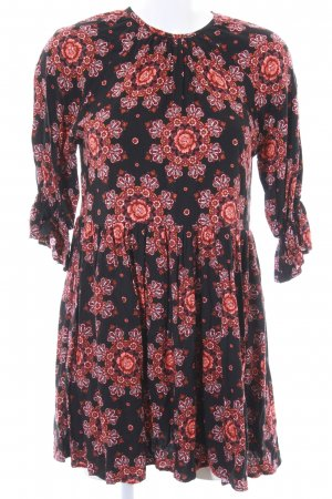 Motel Hippie Dress flower pattern Boho look