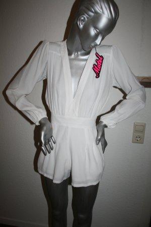 Motel Jumpsuit weiß Gr. XS / 34 ungetragen mit Etikett