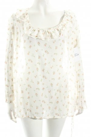 Motel Langarm-Bluse florales Muster Casual-Look