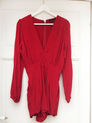 Motel Rocks Jet Jumpsuit in rot, neu