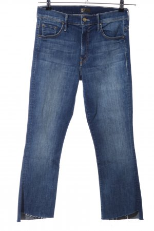Mother Boot Cut Jeans blue casual look