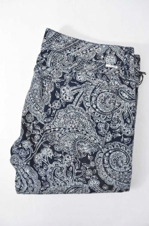 MOTHER Jeans Mod. The Locker col. Duchess By Day Blau Weiß Print Stretch Gr.29