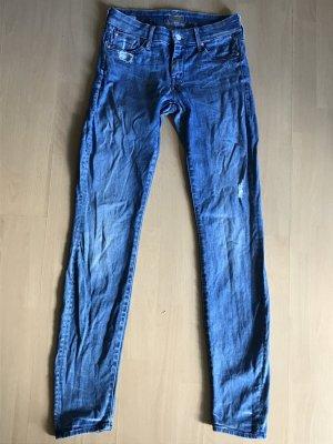 Mother Jeans Skinny Slim fit Röhre Denim destroyed 26