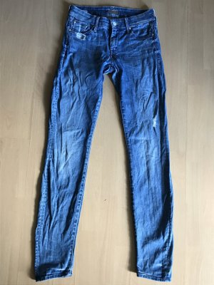 Mother Jeans Skinny Slim fit Röhre Denim destroyed 26