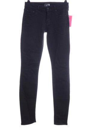 Mother Skinny Jeans schwarz Casual-Look