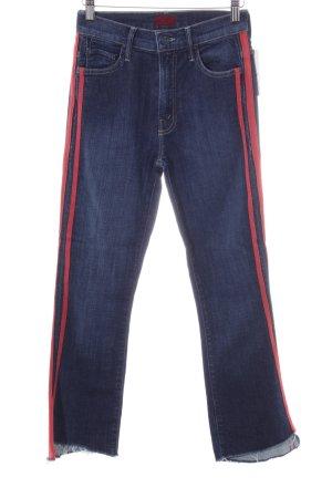 Mother Skinny Jeans blau Casual-Look