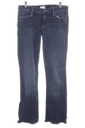 Mother Skinny Jeans dunkelblau Casual-Look