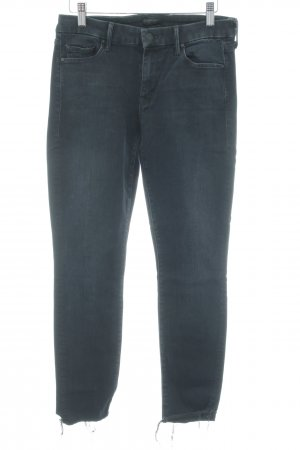 Mother Skinny Jeans dunkelblau Casual-Look