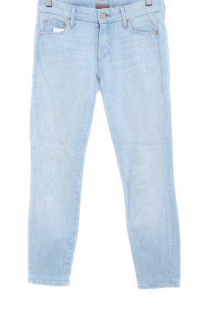 Mother Skinny Jeans himmelblau Casual-Look
