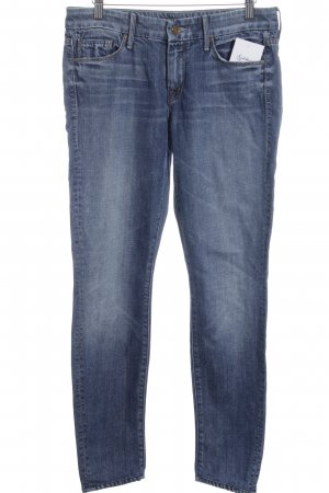 Mother Slim Jeans blau Casual-Look