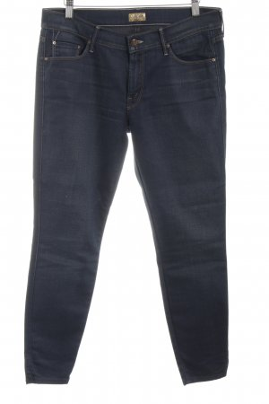 Mother Slim Jeans blue casual look