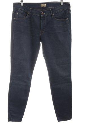 Mother Jeans slim bleu style décontracté