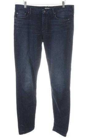 Mother Slim Jeans dunkelblau Casual-Look