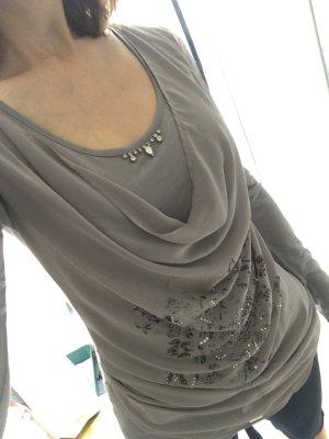 Motivi Mötivi Italienische Mode Shirt Wasserfall