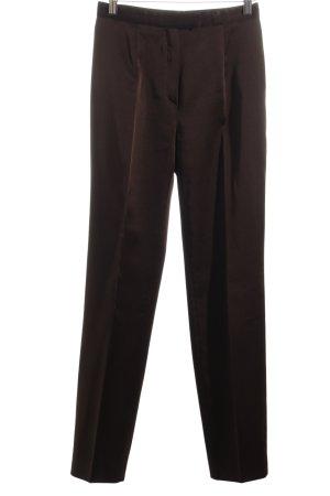 Motivi Pantalone jersey marrone stile professionale