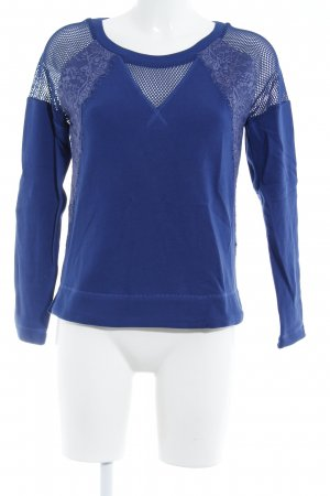Motivi Sweatshirt blau 2in1-Optik