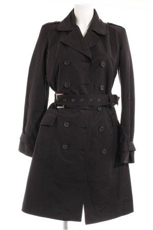 Motivi Trenchcoat noir style anglais