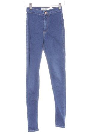 Moto Hüfthose dunkelblau Jeans-Optik