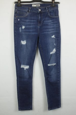 MOTO Topshop High Waist Jeans Gr. 30 Used Look