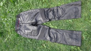Leather Trousers black leather