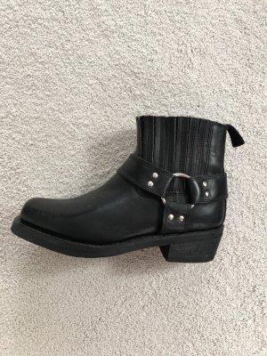 Western Booties black