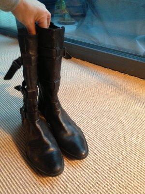 Motorrad Stiefel schwarz, Geox