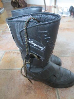 Motorrad Stiefel, schwarz, Gr. 36, gut erhalten, Leder