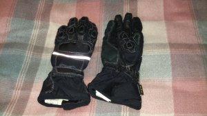 Motorradhandschuhe schwarz