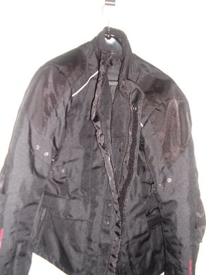 Biker Jacket black polyester